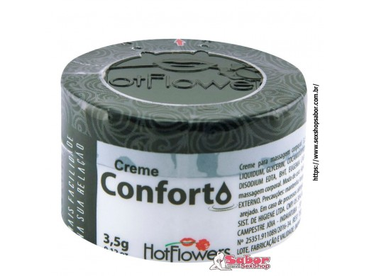 Conforto Creme Excitante Anal 3,5g Hot Flowers Ref.: HC576