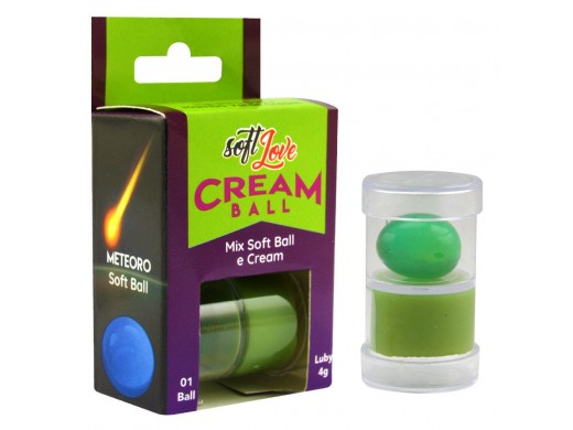 Cream Ball Meteoro Mamba Verde Soft Love Ref.: SL2132