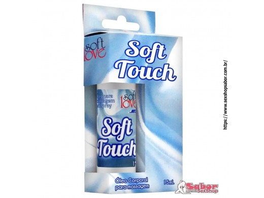 Gel Para Massagem Corporal Soft Touch 15ml Soft Love Ref.: SL3864