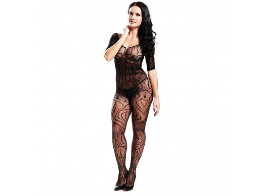 Bodystocking Macacão Rendado Gtoys Ref.: 8896